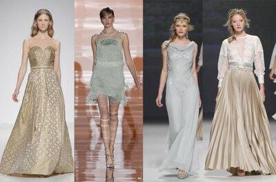 Tendencias en vestidos para invitadas y damas de honor 2015