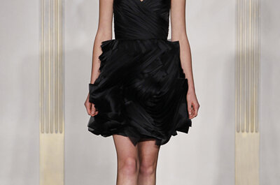 Noir by Lazaro Fall 2012 Collection of Chic Bridesmaid Dresses