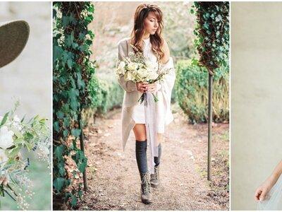 Originalidade em 30 look's de noiva diferentes: deixem a tradição de lado e sejam vocês mesmas!