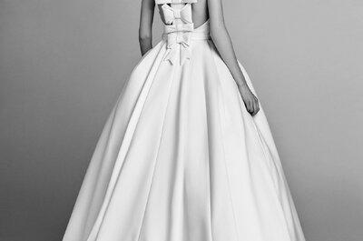 Lazos en vestidos de novia: Un detalle que te cautivará