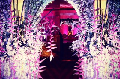 Top 5 wedding florists in Mumbai