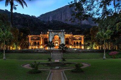 10 lugares clássicos e tradicionais para se casar no Rio de Janeiro com exclusividade