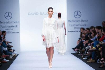 David Salomón y su primavera 2015: Vestidos de novia con un toque bohemio y hippie