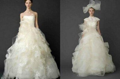 Brautkleider von Vera Wang aus der Kollektion 2012