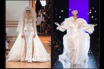 Los mejores vestidos de novia alta costura para tu boda