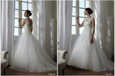Classicisme et modernité, découvrez la collection 2015 de robes de mariée Créations Bochet