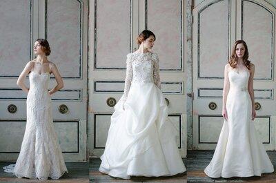 Colección Sareh Nouri primavera 2015: vestidos de novia inspirados en las texturas de la naturaleza