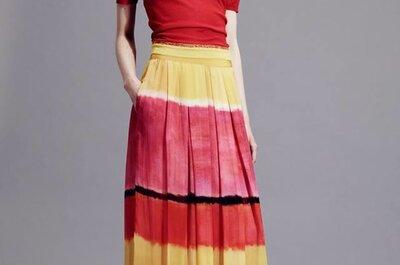 Una oda a la felicidad: Así son los vestidos de fiesta 2015 de Alberta Ferretti
