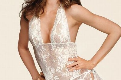 Sensual lencería de novia Victoria's Secret 2013