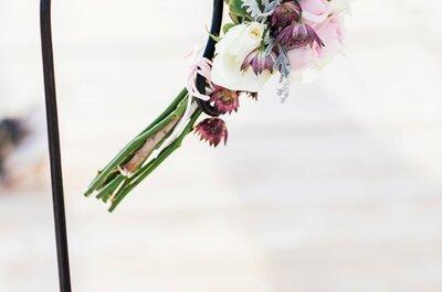 Como decorar uma cerimónia civil com flores?