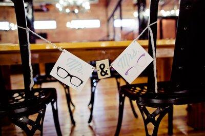 20 cosas obligadas que encontrarás en una boda hipster