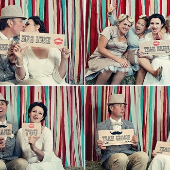 Good Ol´ Fashioned Fun: A Vintage-Inspired Wedding