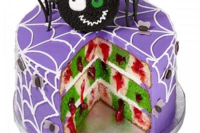 Divertidas ideas en pasteles y dulces para una despedida de soltera en Halloween