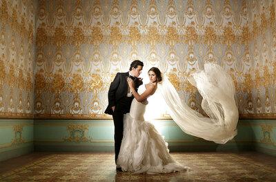Real Wedding: La decoración más majestuosa y un entorno glam en la boda de Nab y Memo