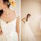 Para asemejarte a la mejor bailarina de ballet, un vestido de novia con falda amplia de tul será genial - Foto Yan Photo