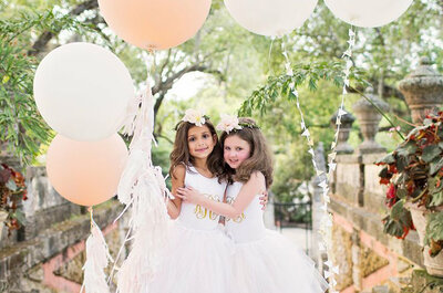 Entrada de daminhas e pajens no casamento: INOVE e DIVIRTA a criançada!