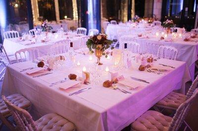 Comment disposer les tables de votre mariage ?