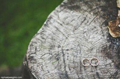 Lidiane e Guilherme: descontração e romantismo em casamento de frente para o mar de Angra dos Reis