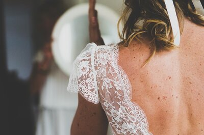 10 puntos clave antes de empezar la búsqueda del vestido de novia ideal