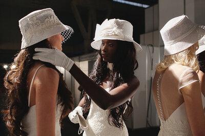 Accesorios de última moda desde el backstage del Barcelona Bridal Week