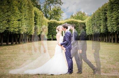 Ophélie et Stéphane : Un mariage rétro organisé à plus de 5000 km de distance !