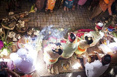 Bascón Bodas y la ceremonia de las Princesas de Ubud: un reportaje con mucha magia