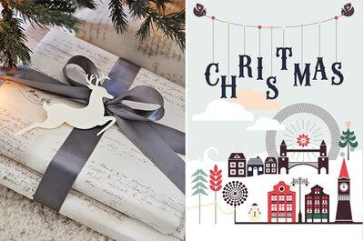 La papelería de boda más navideña: detalles chic con aire festivo