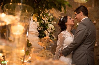 Daiane & Gustavo: casamento clássico dos sonhos em castelo na serra de Petrópolis