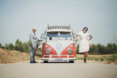 El amor llamó a la puerta: la boda de Irene y Rubén