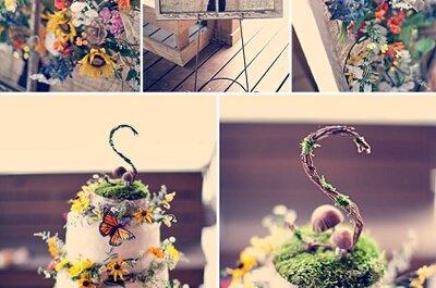 Um casamento 'arco-íris': cor, cor, cor!