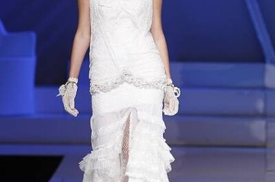 Review del desfile de Yolan Cris 2013 en la Barcelona Bridal Week