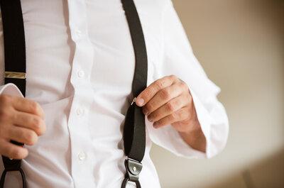 So kombiniert Bräutigam Accessoires zum Hochzeitsanzug!