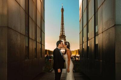 Le mariage chic et glamour d'Abigaëlle et Brice à Paris