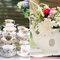 Puntos focales en forma vintage para la decoración de tu boda - Foto Jen Lynne