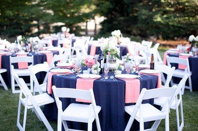 Decoración de boda en color azul marino: Un toque clásico, elegante y de impacto en tu gran día