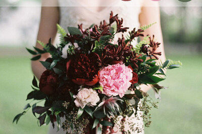 Aprenda a usar a cor Marsala no seu casamento: a tendência mais romântica de 2015