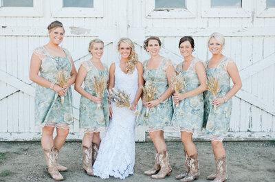 Todo para tu boda rústica country