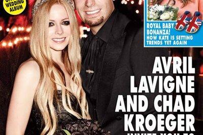 La boda de Avril Lavigne y Chad Kroeger en Francia