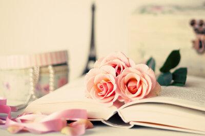 En honor al Día Mundial del Libro, una decoración para tu boda muy intelectual