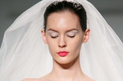 Trendy w makijażu ślubnym 2014: Romantyzm