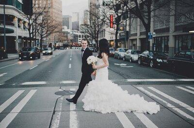 Real Wedding: Unos zapatos Jimmy Choo y la ceremonia más chic en la ciudad