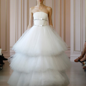 Belle of the Ball: Wedding Dresses with Voluminous Skirts 2016