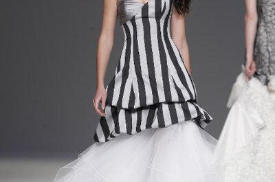 Trendy ślubne 2013: czarne suknie ślubne