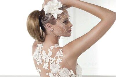 Os mais lindos vestidos de noiva bordados de Pronovias 2015
