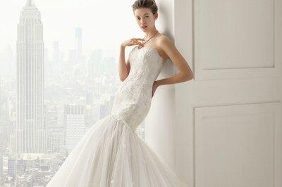 Traumhafte Brautkleider in der Kollektion 2015 von Rosa Clará!