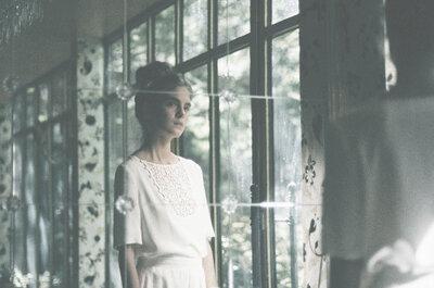 30 vestidos de novia dos piezas perfectos para tu boda. ¡Apuesta por el cambio y triunfa!