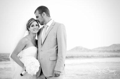 Ideas de fotos en blanco y negro para tu boda