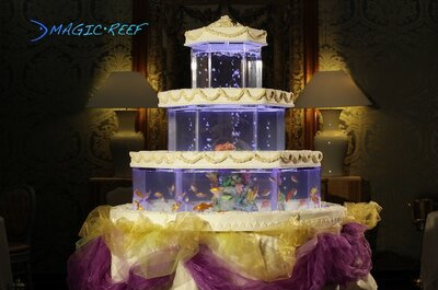 The Crystal Cake: a most surprising wedding cake!