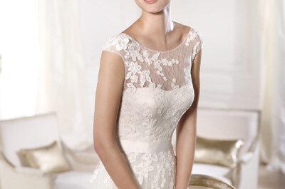 Pronovias 2015: Bordados mágicos y artesanales en vestidos de novia únicos
