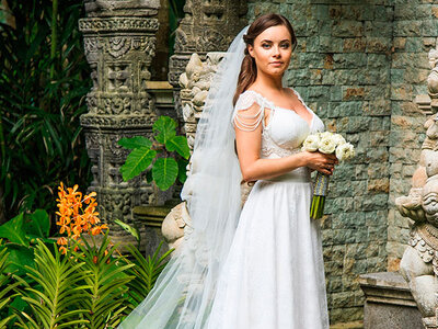 Choose what veil you want to wear at your 2016 wedding, NUMBER 3!